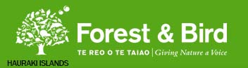 Forest & Bird – Hauraki Islands