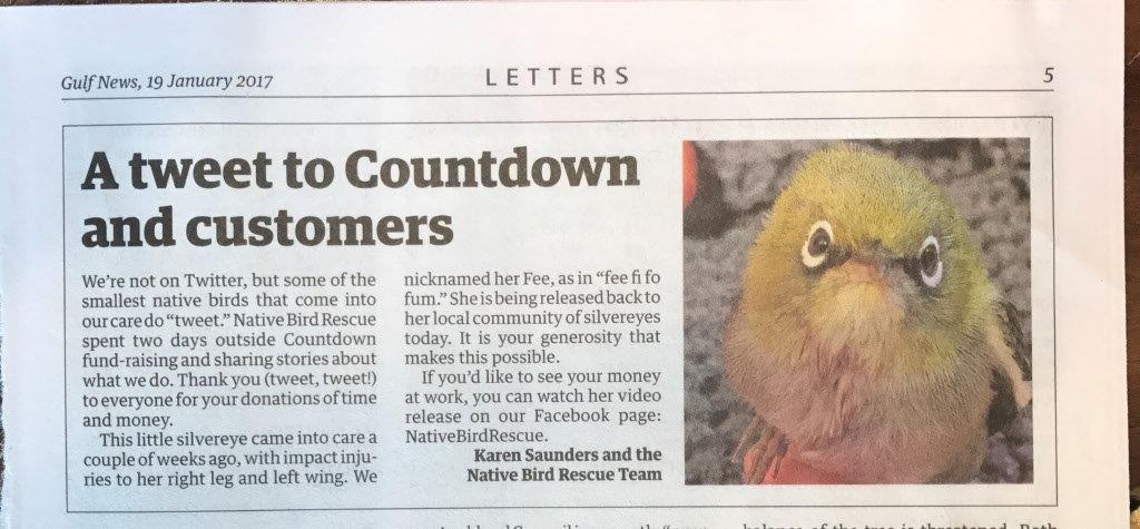 In the media Archives - Native Bird Rescue
